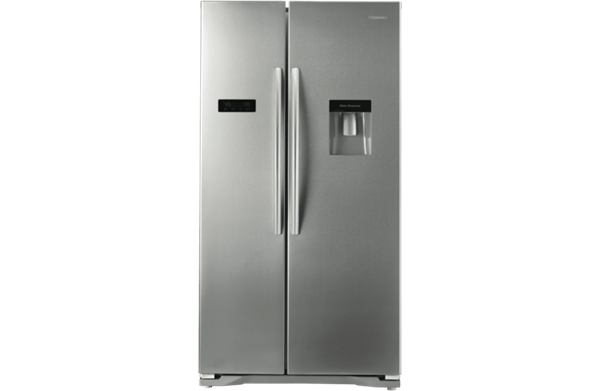 Picture of 610L Hisense Side by Side Fridge (Silver)