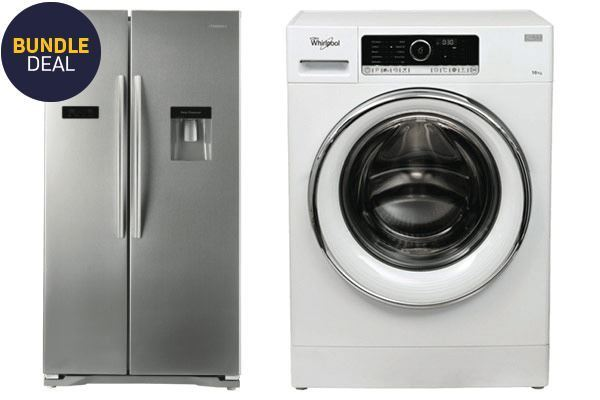 Picture of 610L Hisense Fridge and Whirlpool 10kg Washer