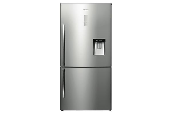 Picture of 514L Hisense Bottom Mount Fridge (Silver)