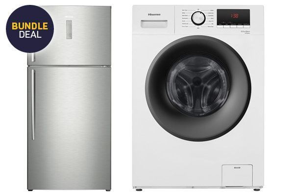 Picture of Hisense 534L Top Mount Fridge and 8.0kg Washer