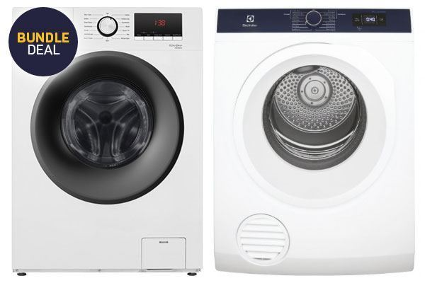 Picture of Hisense 8.0kg Washer and Electrolux 6.0kg Dryer