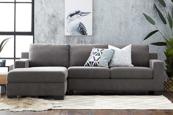 Picture of Austin 2.5 seat chaise sofa with storage + sofa bed