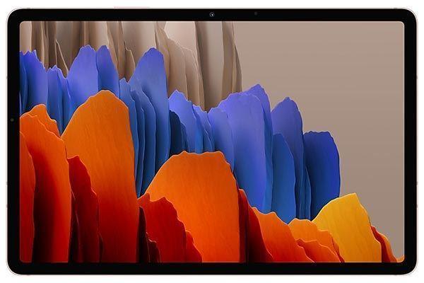 "Picture of Galaxy Tab S7+12.4"" Wi-Fi 128GB Mystic Bronze"