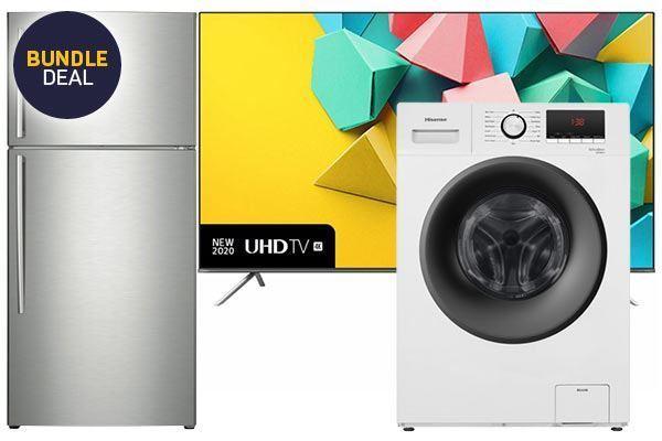 "Picture of 534L Fridge + 8.0kg Washer + Hisense 55"" 139cm Smart TV"