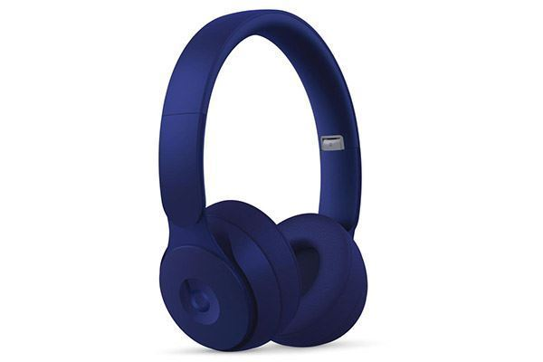 Picture of Beats Solo Pro Wireless Noise Cancelling On-Ear Headphones Dark Blue