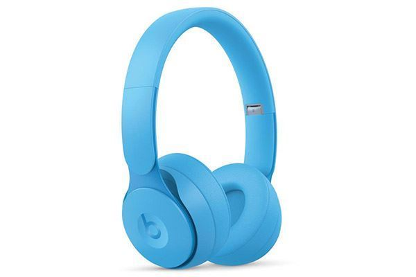 Picture of Beats Solo Pro Wireless Noise Cancelling On-Ear Headphones Light Blue
