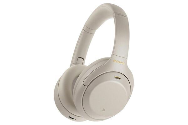 Picture of Sony Wireless Noise Cancelling Over-Ear- Headphones Silver