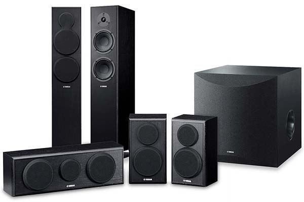 Picture of Yamaha 5.1 Channel Home Cinema Package