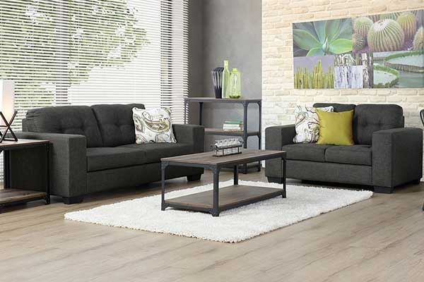 Picture of Amara 3 + 2 Seater Sofa Pair was $22.95 NOW: