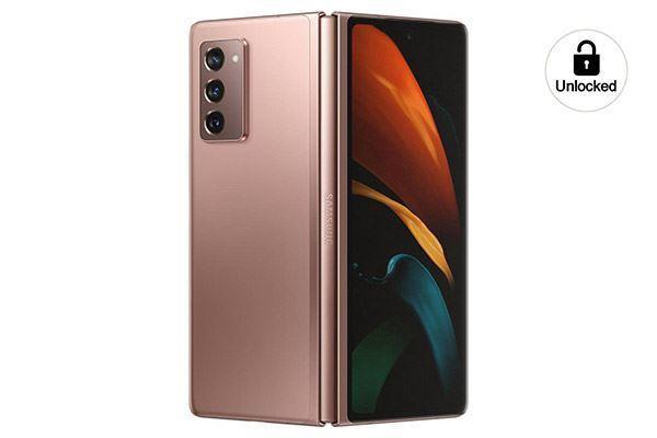 Picture of Samsung Galaxy Z Fold2 5G 256GB Bronze
