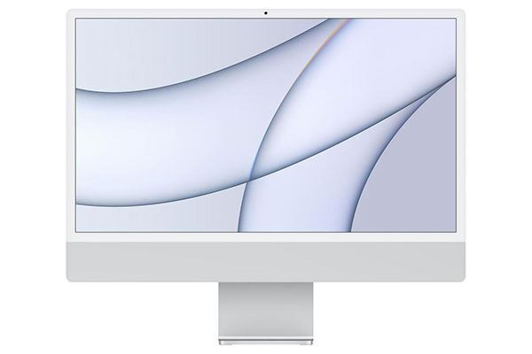 "Picture of Apple iMac - Retina 4.5K 24"" Display - 7-core 256GB Silver [2021]"