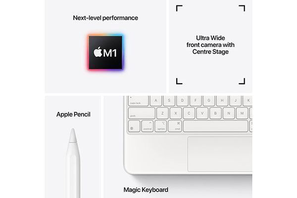 Picture of Apple iPad Pro 12.9-inch 128GB Wi-Fi Silver [2021]